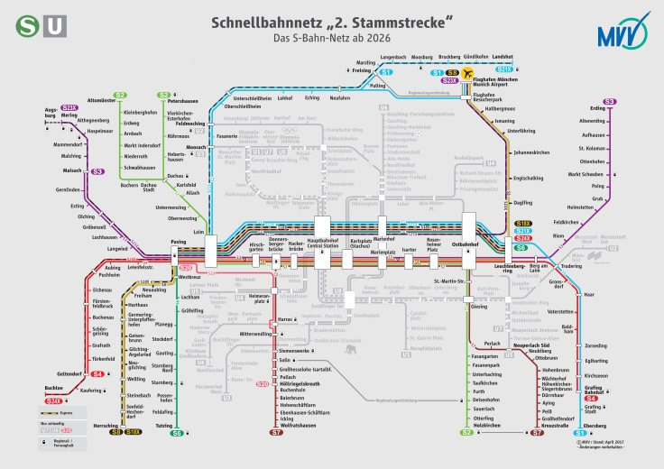 Netzplan München 2026 neu