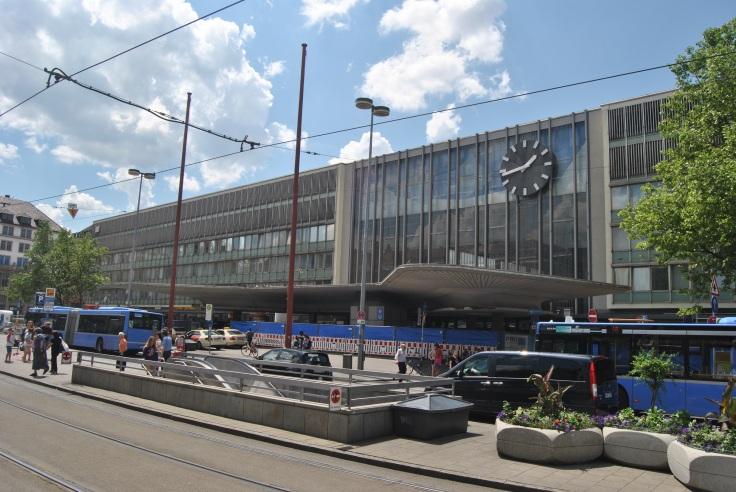 Hauptbahnhof Sommer 2017